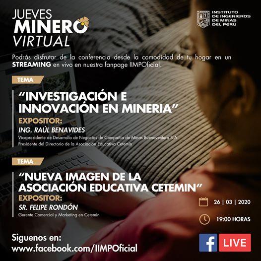 Jueves Minero - IIMP