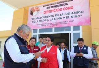 Ministra Susana Vilca articula acciones preventivas en región Moquegua para enfrentar el coronavirus