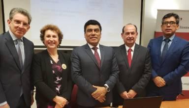 Presidente de PeruPetro se reúne con empresarios del sector hidrocarburos del Reino Unido