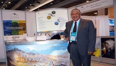 Igor Gonzáles, Presidente y CEO de Sierra Metals.