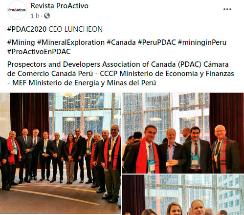 #PDAC2020 CEO LUNCHEON (Fotos)
