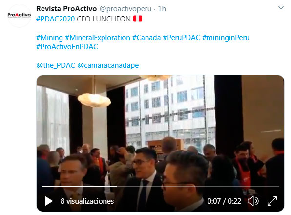 #PDAC2020 CEO LUNCHEON (Video)