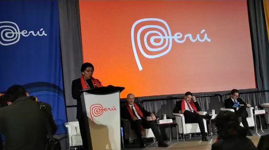 #PDAC2020 #PERUDAY Susana Vilca, ministra de Energía y Minas