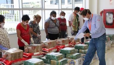 APM Terminals Callao entregó más de 1.2 toneladas de alimentos