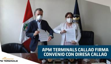 APM Terminals Callao firma convenio con DIRESA Callao