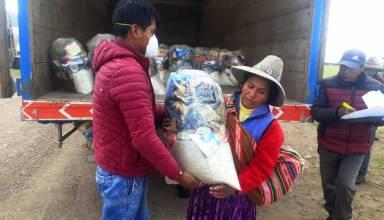 Antapaccay entrega 5750 paquetes de víveres e implementos de aseo a las familias de extrema pobreza de Espinar