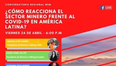 Cómo reacciona el sector minero frente al COVID-19 en América Latina