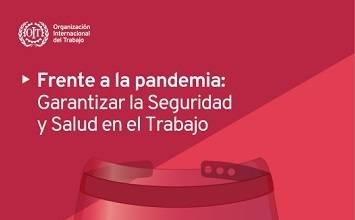 Frente a la pandemia - Garantizar la Seguridad y Salud en el Trabajo