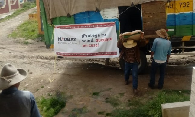 Hudbay Perú entrega alimentos a siete comunidades campesinas de Chumbivilcas