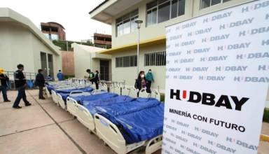 Hudbay entrega a la región Cusco equipos e insumos biomédicos para combatir COVID 19