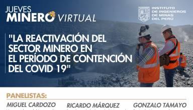 La reactivación del sector minero en el período de contención del Covid 19
