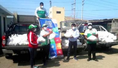 TASA dona 16 toneladas de alimentos