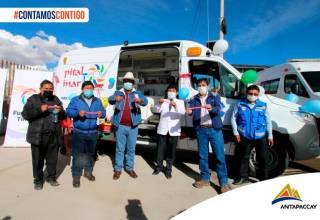 Antapaccay-Convenio-Marco-ambulancia-equipos-en-Espinar