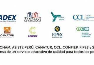 CONFIEP Unidos en defensa de un servicio educativo de calidad para todos los peruanos