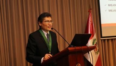 Ing. Fernando Gala Soldevilla, presidente del Consejo de Minería.