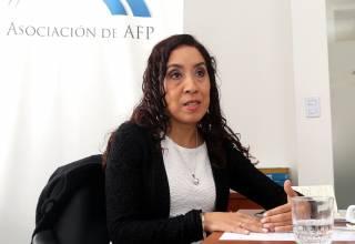 Giovanna Priale, presidenta de la Asociación de AFP