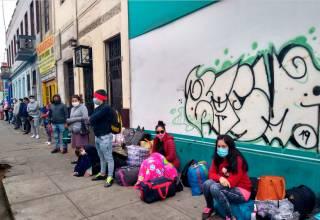 Hualgayoquinos que se quedaron en Lima reciben apoyo de Gold Fields para regresar a su tierra natal