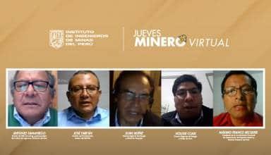 IIMP propone apoyar en la elaboración de protocolo unificado para la reactivación de la minería a pequeña escala