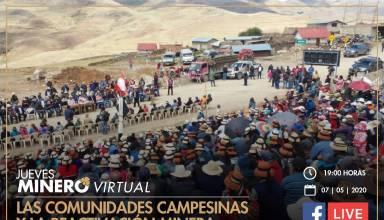 Las comunidades campesinas y la reactivación minera