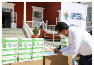 Minera Poderosa donas 20,000 pruebas rápidas al sector salud de La Libertad