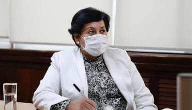 Ministra Susana Vilca