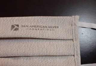 Pan American Silver - mascarilla