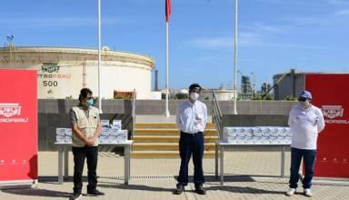 Petroperú dona 5 mil kits de pruebas rápidas Centro de Salud de Talara