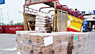 Proyecto minero Rio Blanco dona 30 toneladas de alimentos a familias de Huancabamba