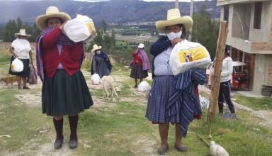 Yanacocha entregó más de 11 700 canastas con alimentos básicos