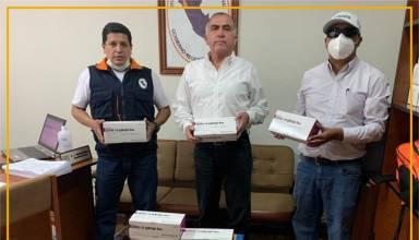 Yanacocha entrega 1,000 pruebas rápidas al Gobierno Regional de Cajamarca