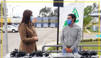 Yanacocha entrega 22 equipos de computo a Hospital de Cajamarca