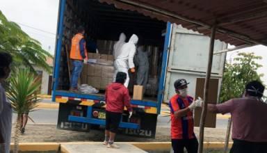 Antamina completa una nueva entrega de bolsas de alimentos