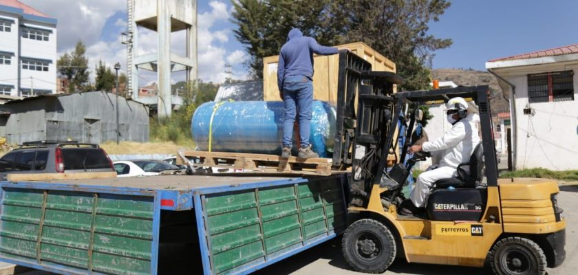 "Antamina entrega planta de oxígeno medicinal al Hospital ""Víctor Ramos Guardia"" de Huaraz para pacientes Covid-19"