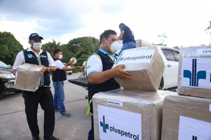 Pluspetrol Norte - Donación medicinas y equipos sanitarios - Hospital Regional de Loreto