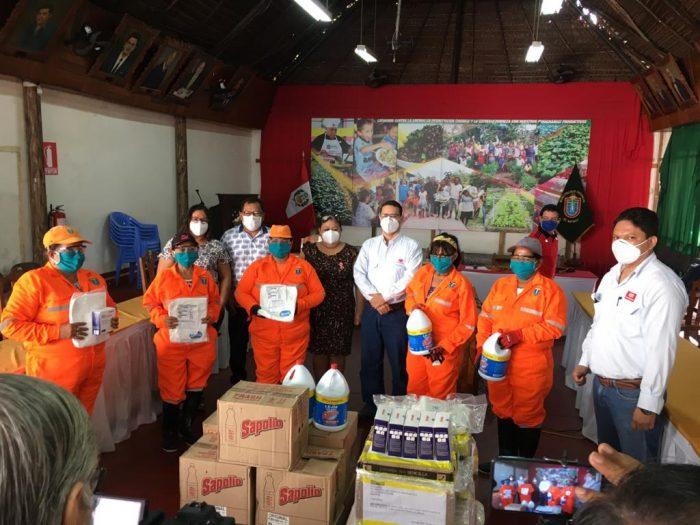 PETROPERÚ se une a campaña de limpieza pública en Iquitos