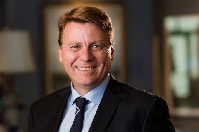 Tom Palmer, CEO de Newmont