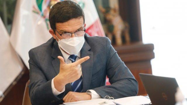 Luis Miguel Incháustegui, ministro de Energía y Minas