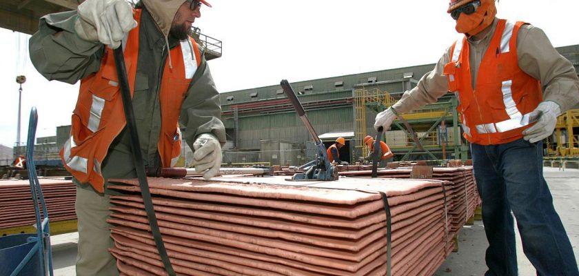 exportaciones de cobre