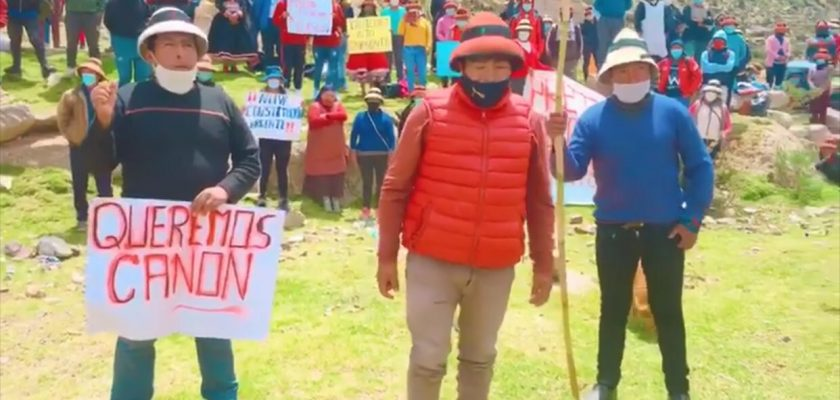 Protestas en Las Bambas