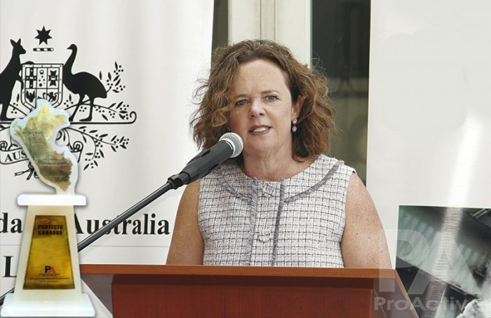 Diana Nelson, embajadora de Australia en Perú