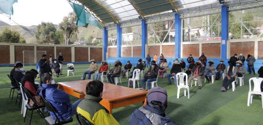 Chumbivilcas: dirigentes de se comprometen a levantar bloqueo del Corredor Vial Sur y retomar diálogo con minera Hudbay