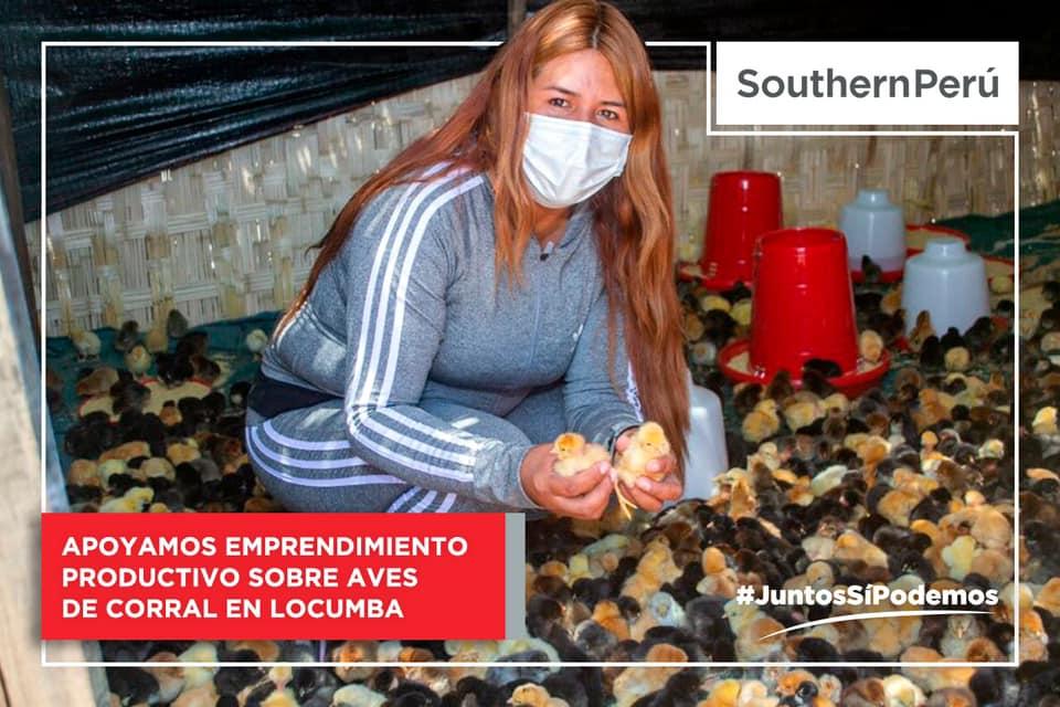 Southern Perú entrega capital semilla a productores de Locumba