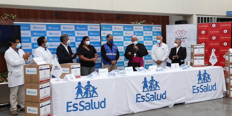 Respira Perú entrega a EsSalud 600 ventiladores mecánicos