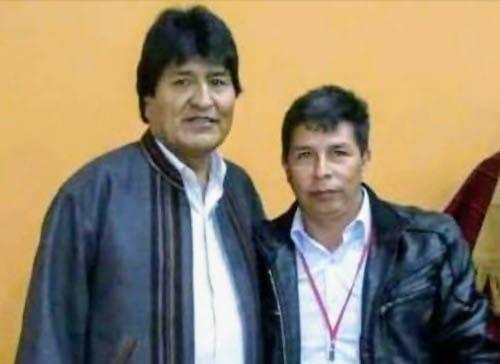📢 Evo Morales apoya la campaña de Pedro Castillo