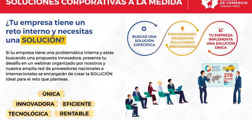 La Cámara de Comercio Canadá Perú - CCCP presenta Soluciones Corporativas a la Medida