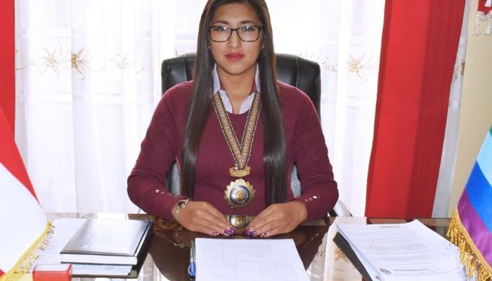 Nadia Liz Pallo Arotaipe, alcaldesa de Chumbivilcas