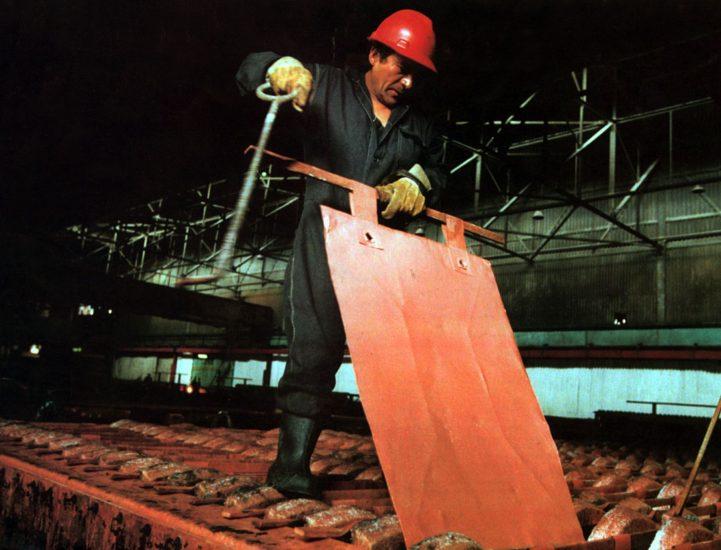 minería de cobre en Perú