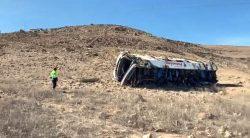Despiste de bus que transportaba trabajadores de Pallancata ocasiona 27 víctimas mortales y 13 heridos (Exclusivo)