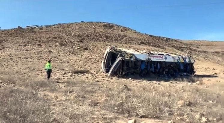 Despiste de bus que transportaba trabajadores de Pallancata ocasiona 27 víctimas mortales y 13 heridos