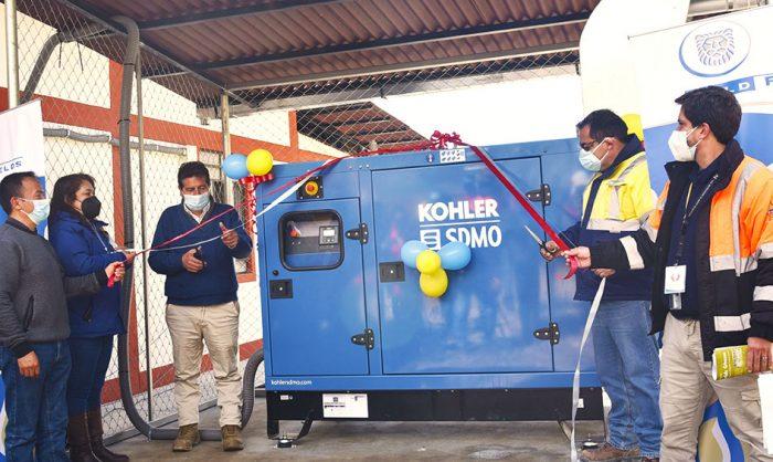 Gold Fields dona grupo electrógeno para el funcionamiento de la planta de oxígeno del distrito de Hualgayoc